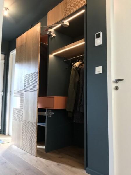 au fil du bois dressing d 39 entr e r alisation dressing placard plougoumelen. Black Bedroom Furniture Sets. Home Design Ideas